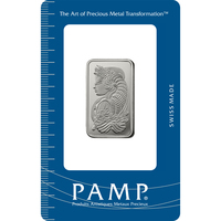 20 gram Platinum Bar - PAMP Suisse Lady Fortuna
