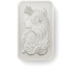 Invest in 5 grams Fine Platinum Lady Fortuna - PAMP Suisse - Front
