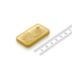 Invest in 100 grams Fine gold Lady Fortuna - PAMP Swiss - Ruler view