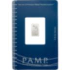 Achat d'or 1 gramme Lingot, Lingotin de Platine Pur Lady Fortuna - PAMP Suisse - Certi-PAMP