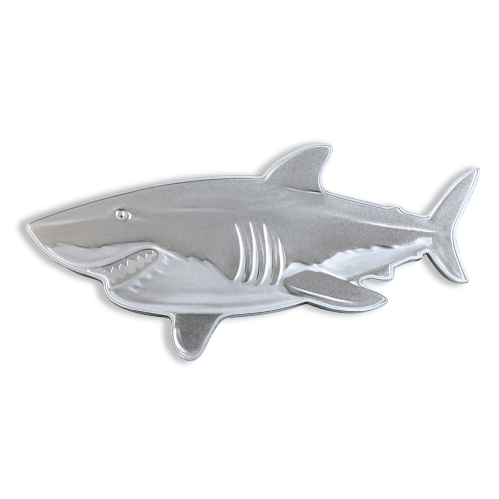 1 oz Silver Coin - PAMP Suisse The Great White Shark