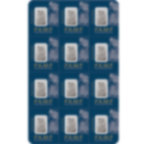 12x1 gram multigram Fine Platinum Bar 999.5 - PAMP Suisse Lady Fortuna