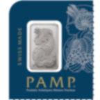 12x1 grammo multigrammo lingottino di platino puro 999.5 - PAMP Suisse Lady Fortuna