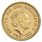 Fine Gold Coin 916.7 - Sovereign Elizabeth BU Mixed Years