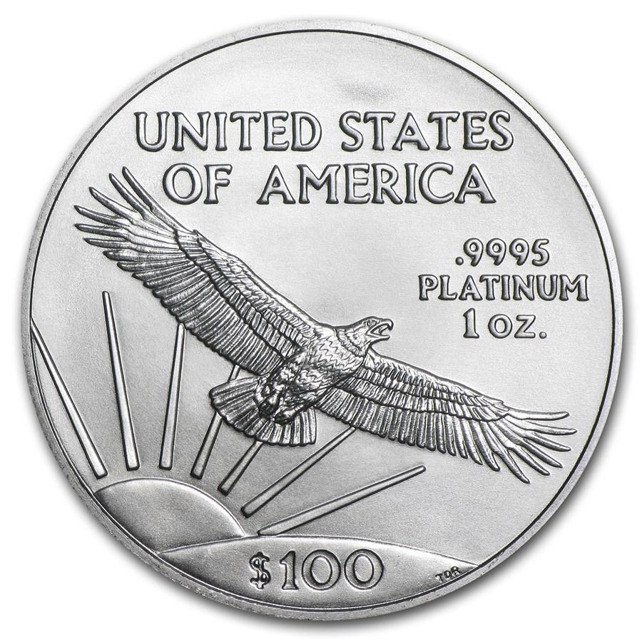 1 Unze FeinPlatinmünze 999.5 - American Eagle BU Gemischte Jahre