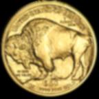 1 once pièce d'or pur 999.9 - Buffalo BU Années Mixtes