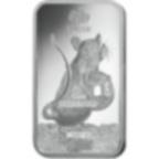 Lingotin d'argent de 1 once pur 999.0 - PAMP Suisse Lunar Rat