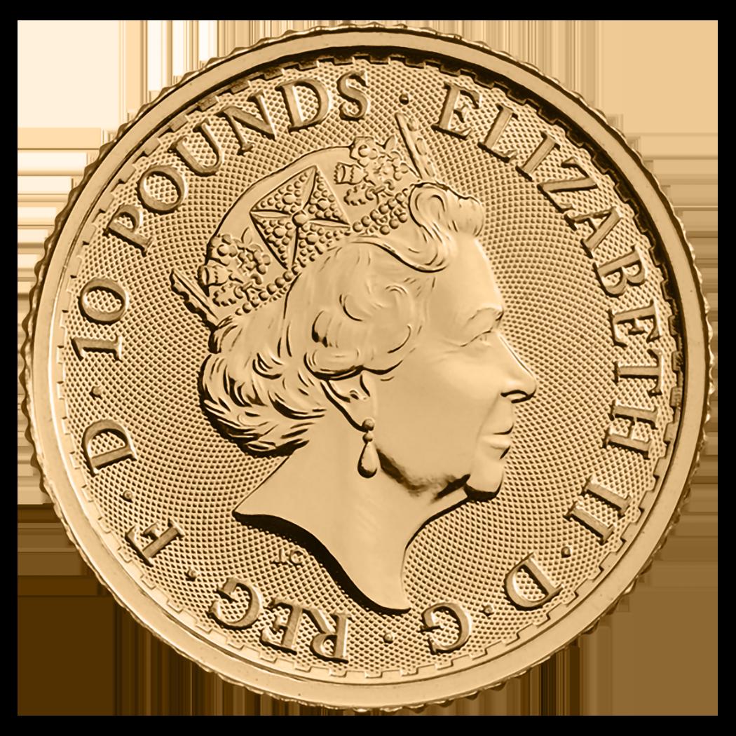 1/10 Unze Feingoldmünze 999.9 - Britannia BU Gemischte Jahre