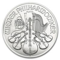1 oz Platinum Coin - Philharmonic BU 2018