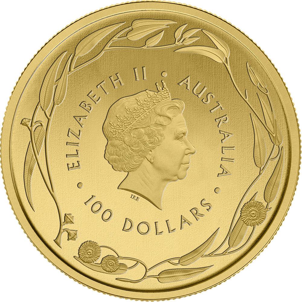 1 Unze FeinGoldmünze 999.9 - Känguru Veriscan BU Gemischte Jahre