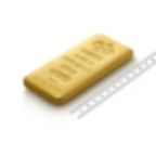 Purchase 1kg Fine Gold Cast Bar - PAMP Swiss - Ruler view