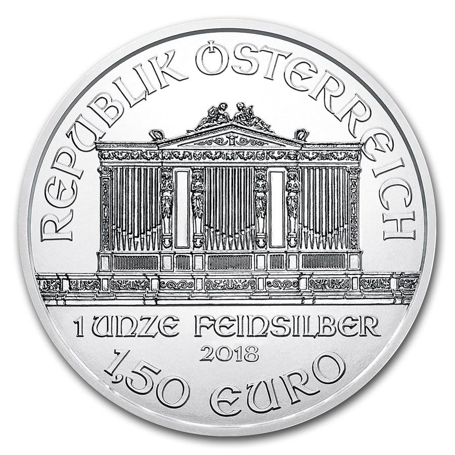 1 oncia moneta d'argento - Filarmonica BU 2018