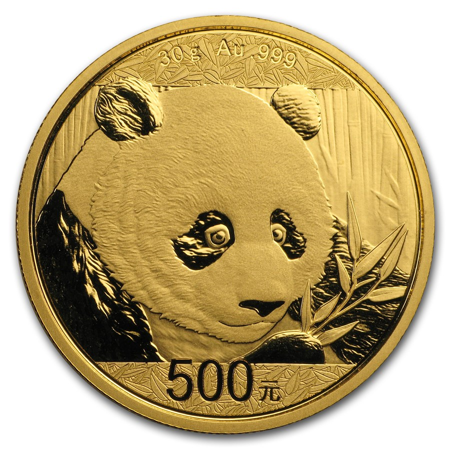 30 gram gold panda china goldavenue