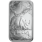 Invest in 100 grams Fine Silver Lunar Ox - PAMP Suisse - Front