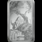 Invest in 100 grams Fine Silver Lunar Ox - PAMP Suisse - Back