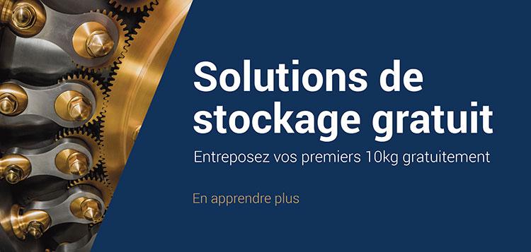 Solutions de stockage gratuit