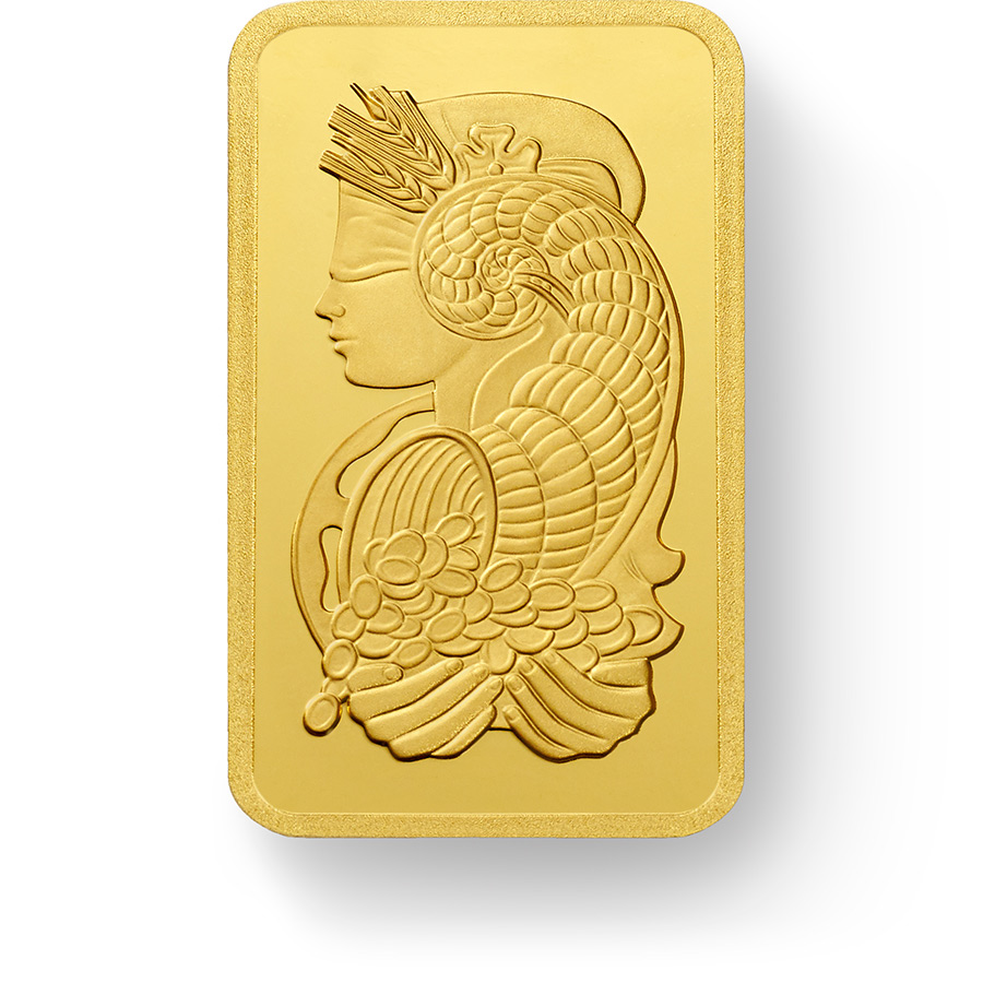 Buy Gold PAMP Suisse Lady Fortuna Bars