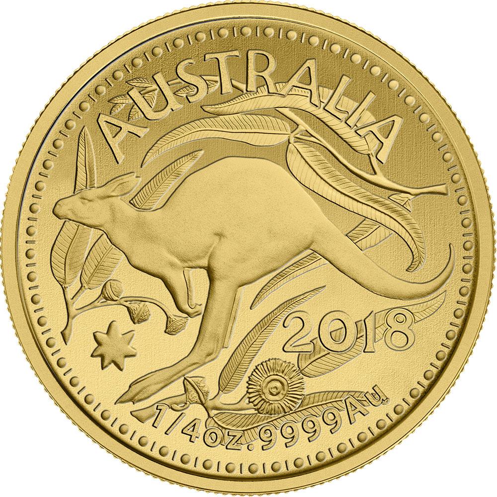 Gold Kangaroo Coins