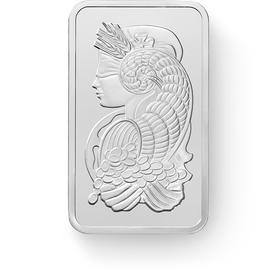 Buy Silver PAMP Suisse Lady Fortuna Bars