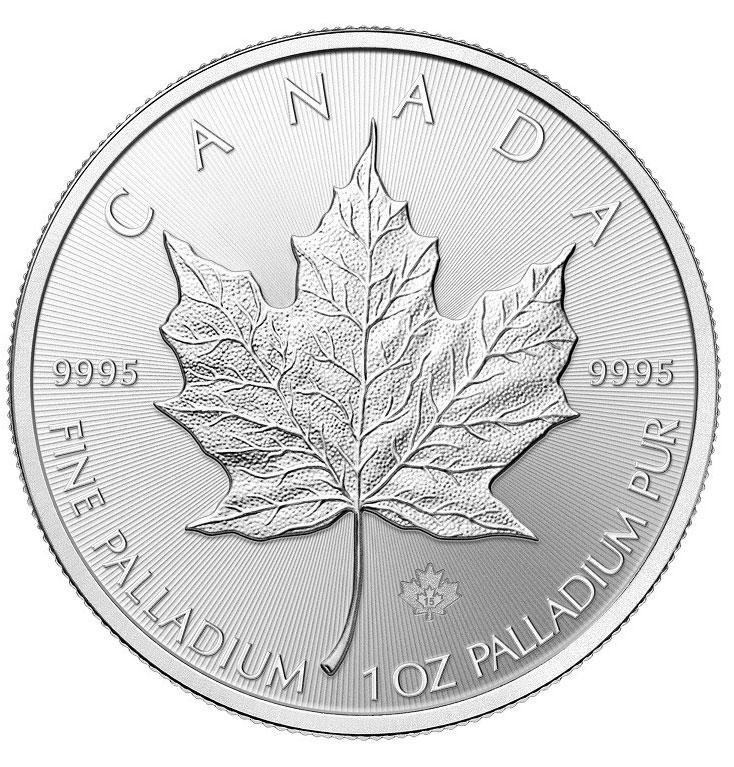 Palladium Canadian Maple Leaf