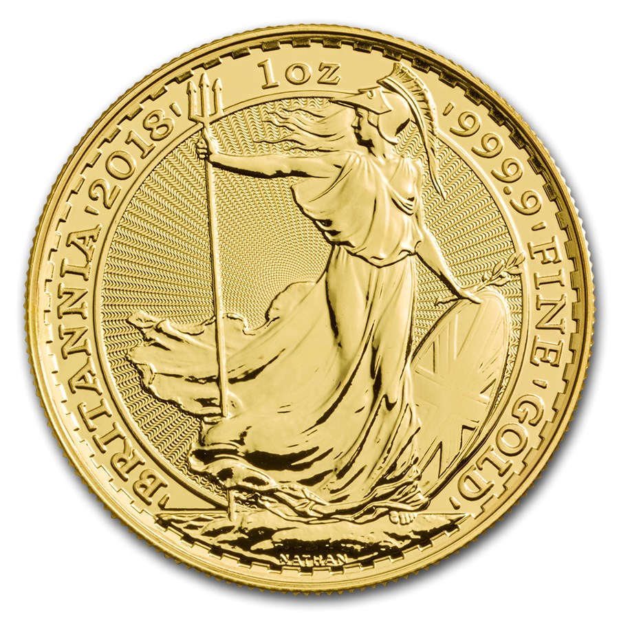 Goldmünzen Britannia